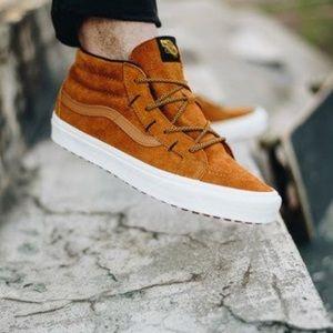Vans Sk8 Mid Reissue Ghillie MTE Suede Sneakers
